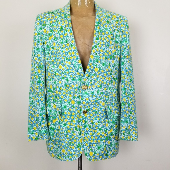 edad936ac502d0 Lilly Pulitzer Suits & Blazers | Vtg Mens Stuff Sport Coat Blazer 40 ...